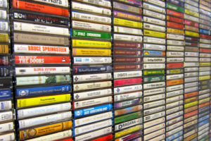 Flickr – Cassettes / Wall of Sound