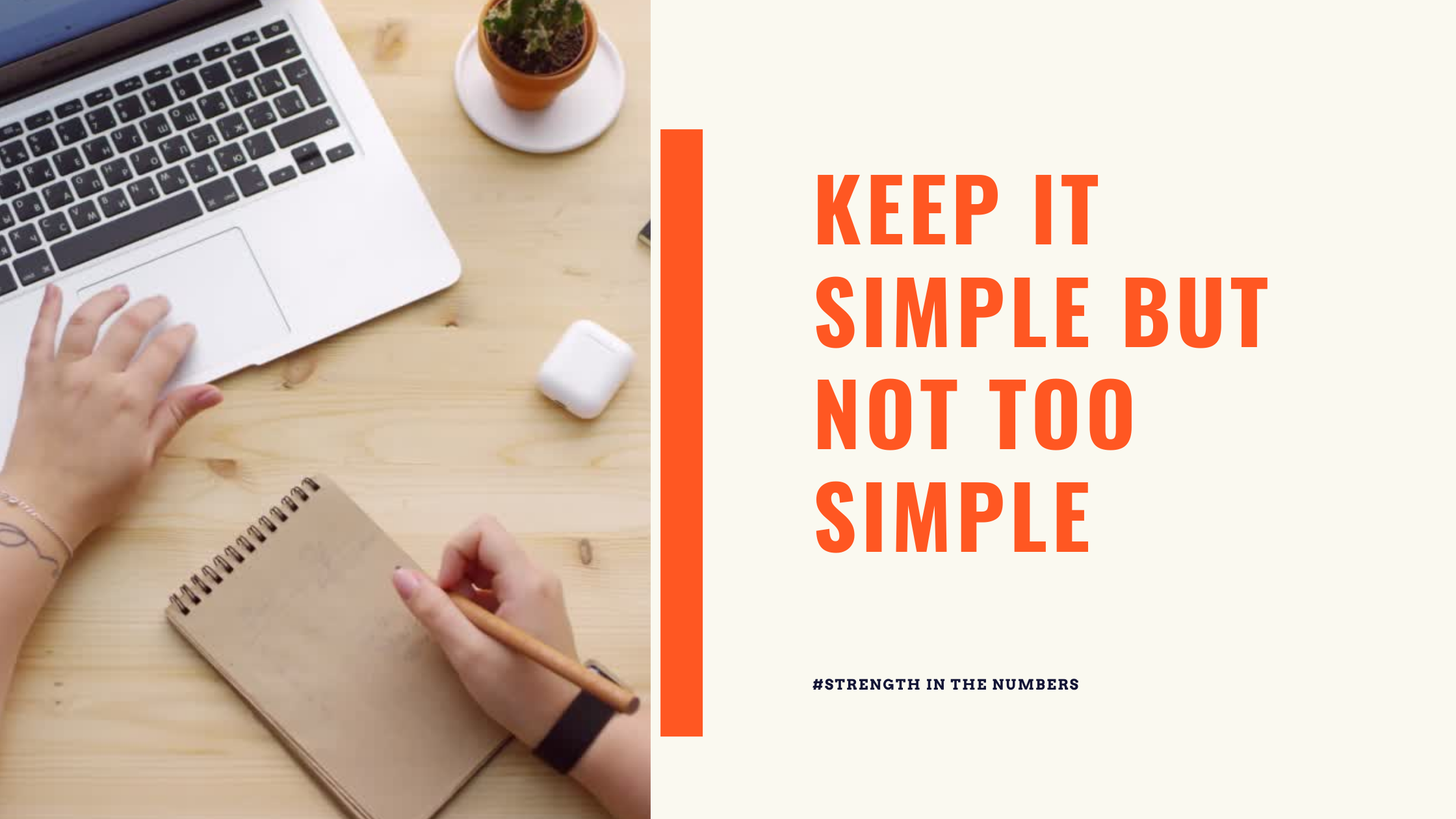 #265: Monday Memo: Keep It Simple BUT Not Too Simple