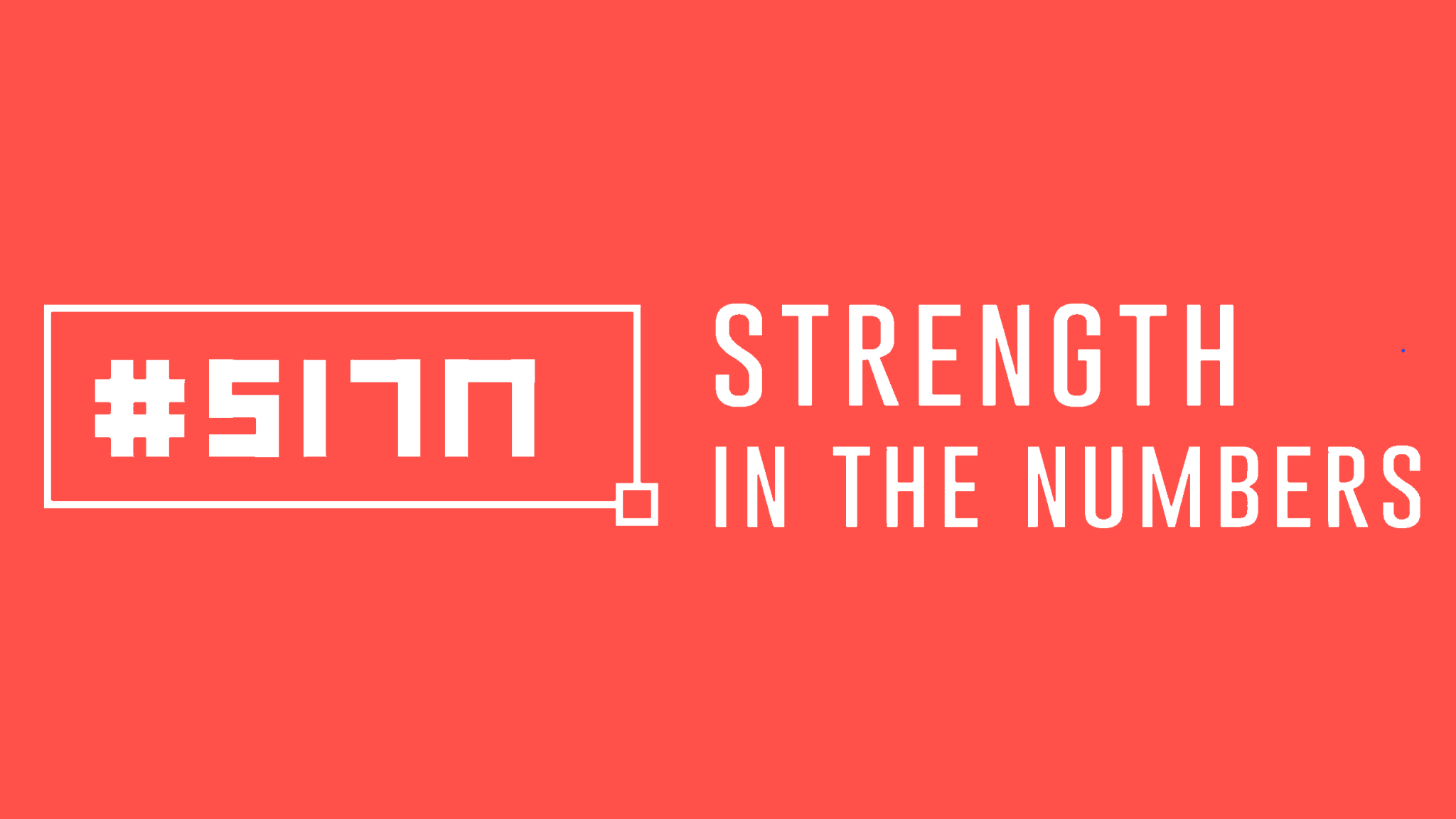 #SITN Strength In The Numbers